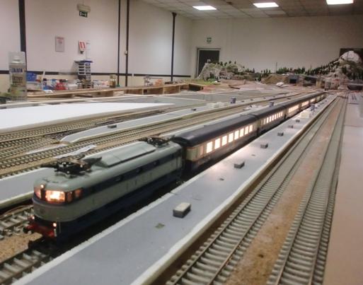 Rivarossi 1/80 digitalizzato in Stazione